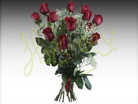 Ramo 12 rosas