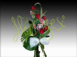Ramo 5 rosas endulzado