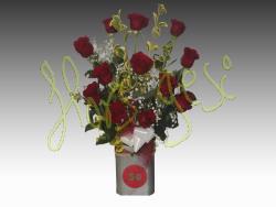 Centro rosas 50 aniversario
