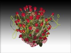 Centro 50 rosas